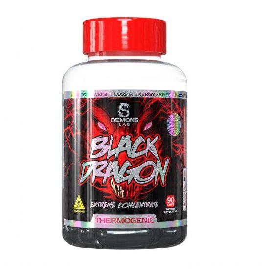 BLACK DRAGON - 90 CÁPSULAS - DEMONS LAB