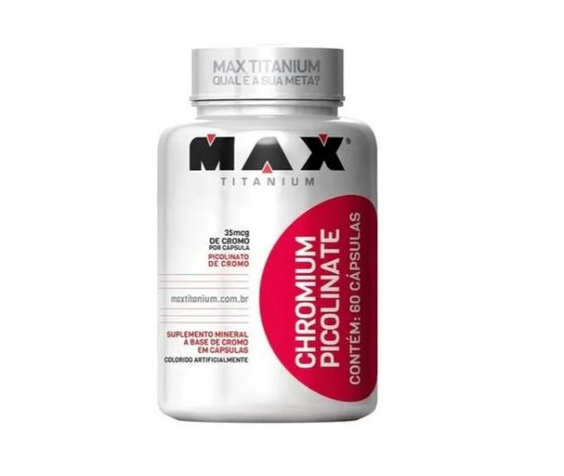 Chromium Picolinate Pote Com 60 Caps - Maxtitanium