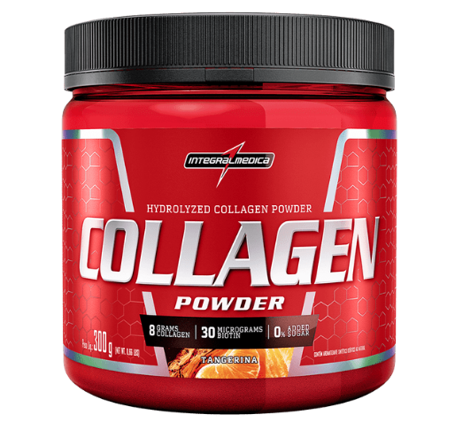 Collagen Powder 300g - Tangerina - Integral médica