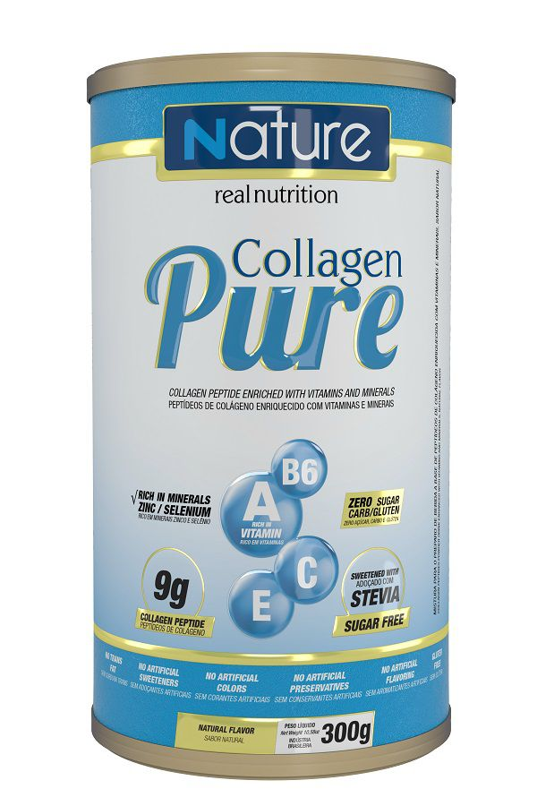 COLLAGEN PURE NATURAL 300G - NUTRATA