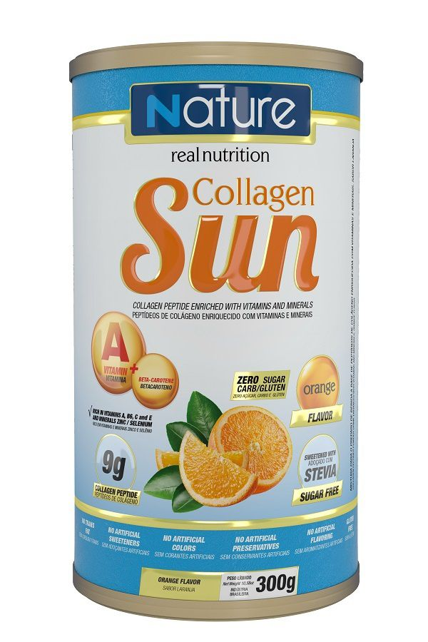 COLLAGEN SUN 300G ORANGE - NUTRATA
