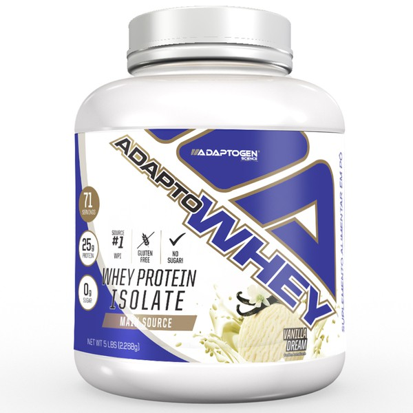 ADAPTO WHEY 2268G (5lbs) - VANILLA CREAM