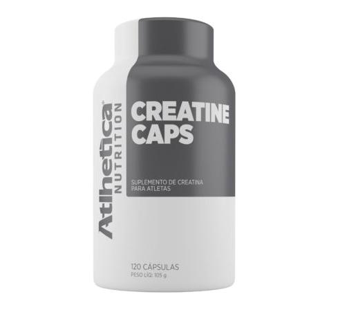 Creatine Caps (120 caps) Atlhetica Nutrition