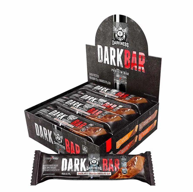 DARK WHEY BAR PROTEIN BAR CX. 8 BARRAS