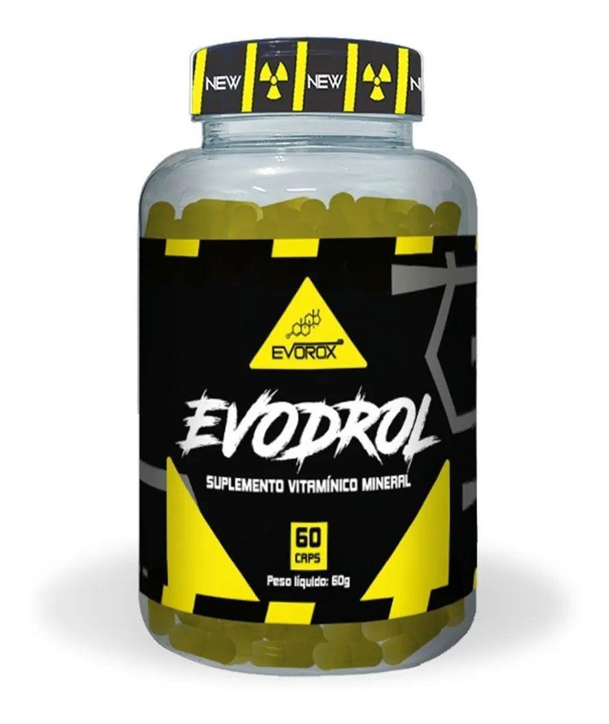 EVODROL 60 CÁPSULAS - EVOROX NUTRITION