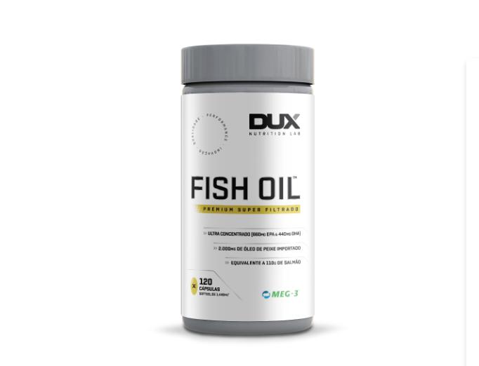 FISH OIL - POTE 120 CÁPSULAS