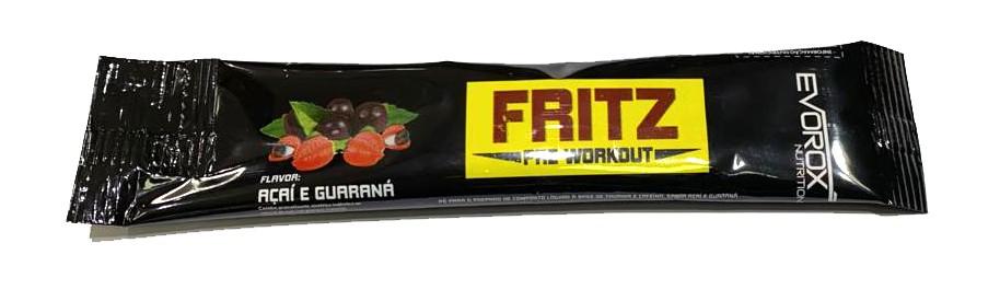 Fritz Pré Workout - Sachê 10g - Evorox
