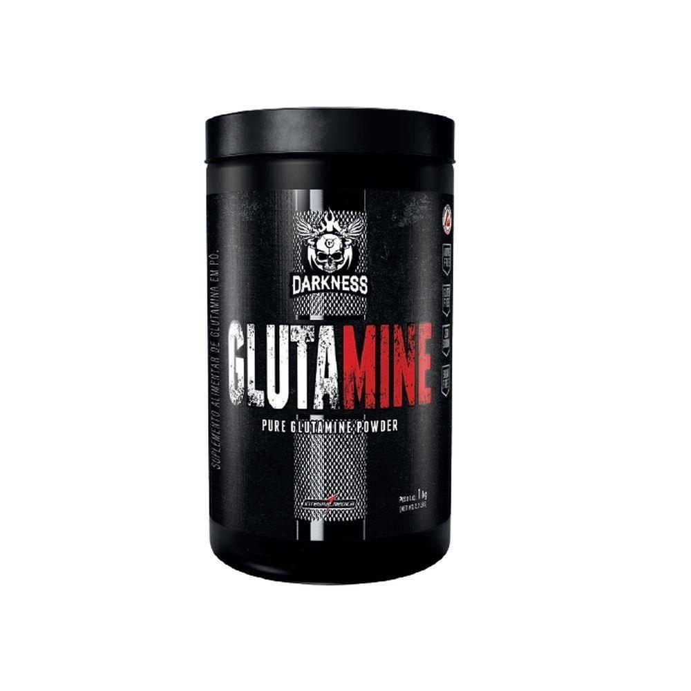 GLUTAMINE DARKNESS - 1kg - INTEGRALMÉDICA