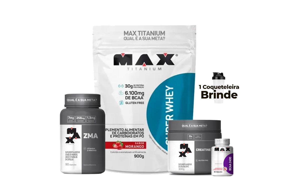 Kit Masculino - Max Titanium