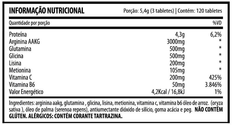 MK-GH 120 TABLETES - DEMONS LAB