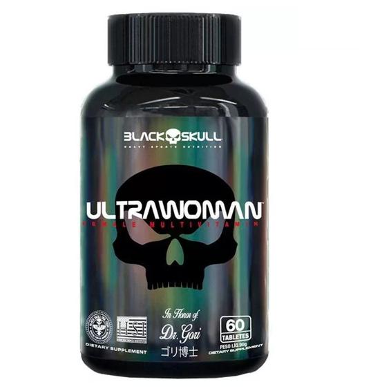 Multivitaminico Ultraman 60 Tabletes - Black Skull