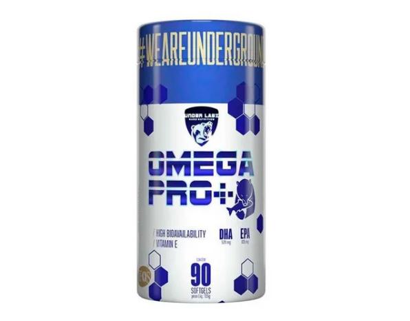 Ômega 3 - Omega Pro+ Under Labz 90 Softgels