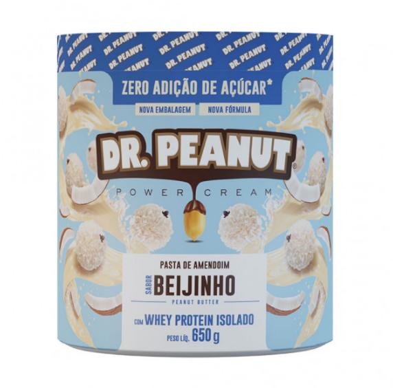 Pasta de amendoim  com Whey Protein 650G - Dr Peanut