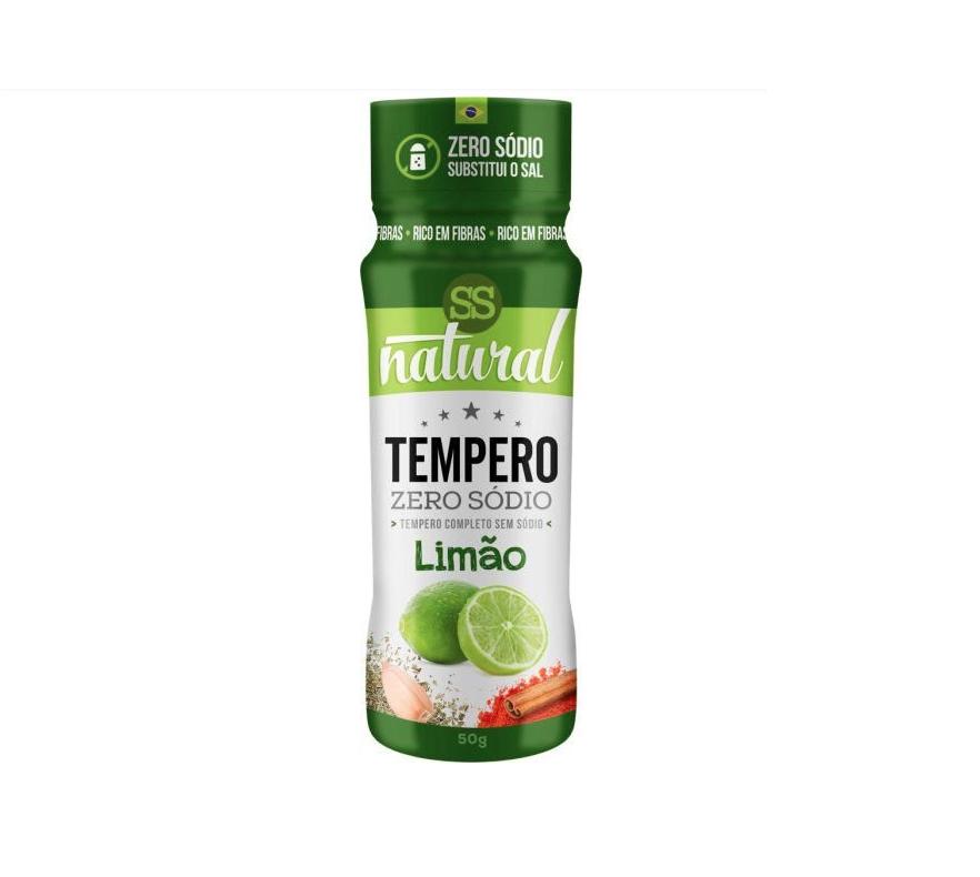 Tempero de Limão - Zero Sódio
