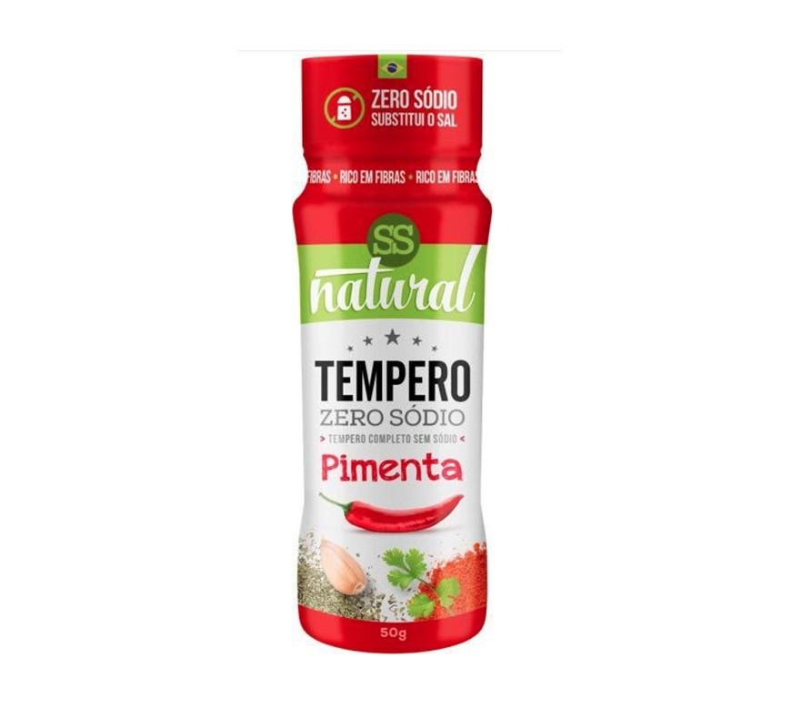 Tempero de Pimenta - Zero Sódio