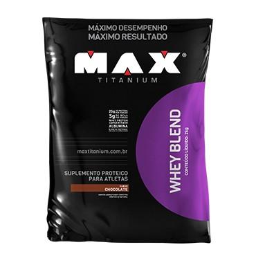 WHEY BLEND 2KG SABOR CHOCOLATE - MAX TITANIUM