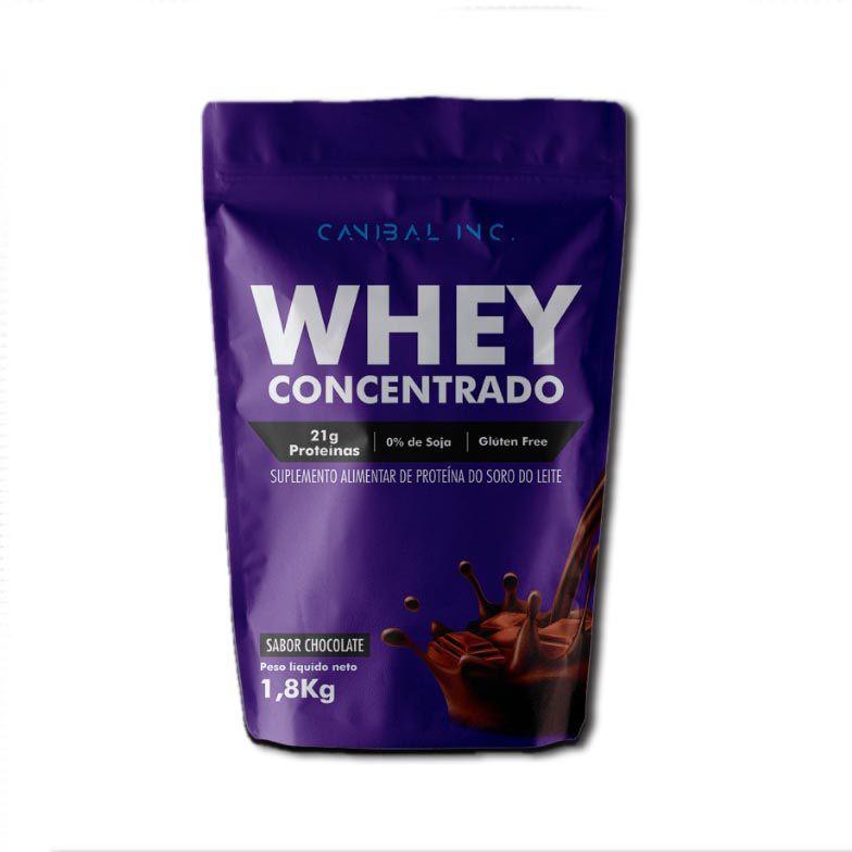 WHEY CONCENTRADO 1,8KG - CANIBAL INC