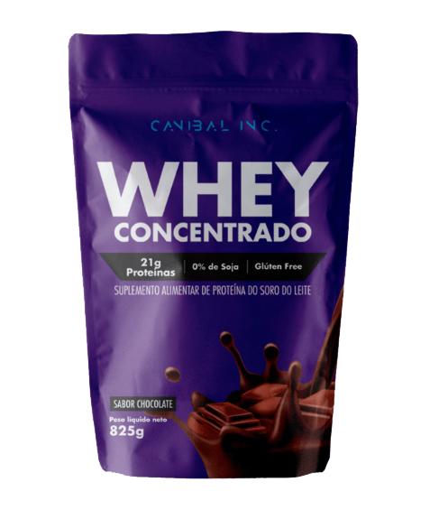 WHEY PROTEIN CONCENTRADO 825G - Canibal Inc