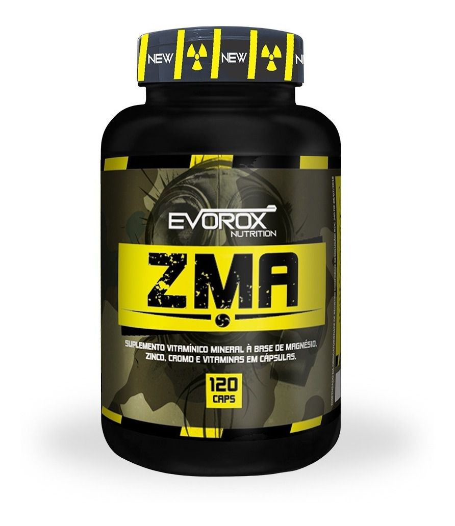 ZMA COM CROMO 120 CÁPSULAS - EVOROX NUTRITION
