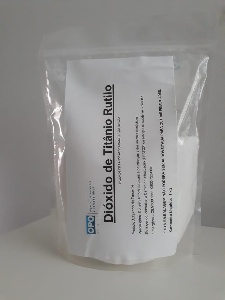 Dióxido de Titânio Rutilo - 25 Kg, 20 Kg, 15 Kg, 10 Kg, 5 Kg e 1 Kg