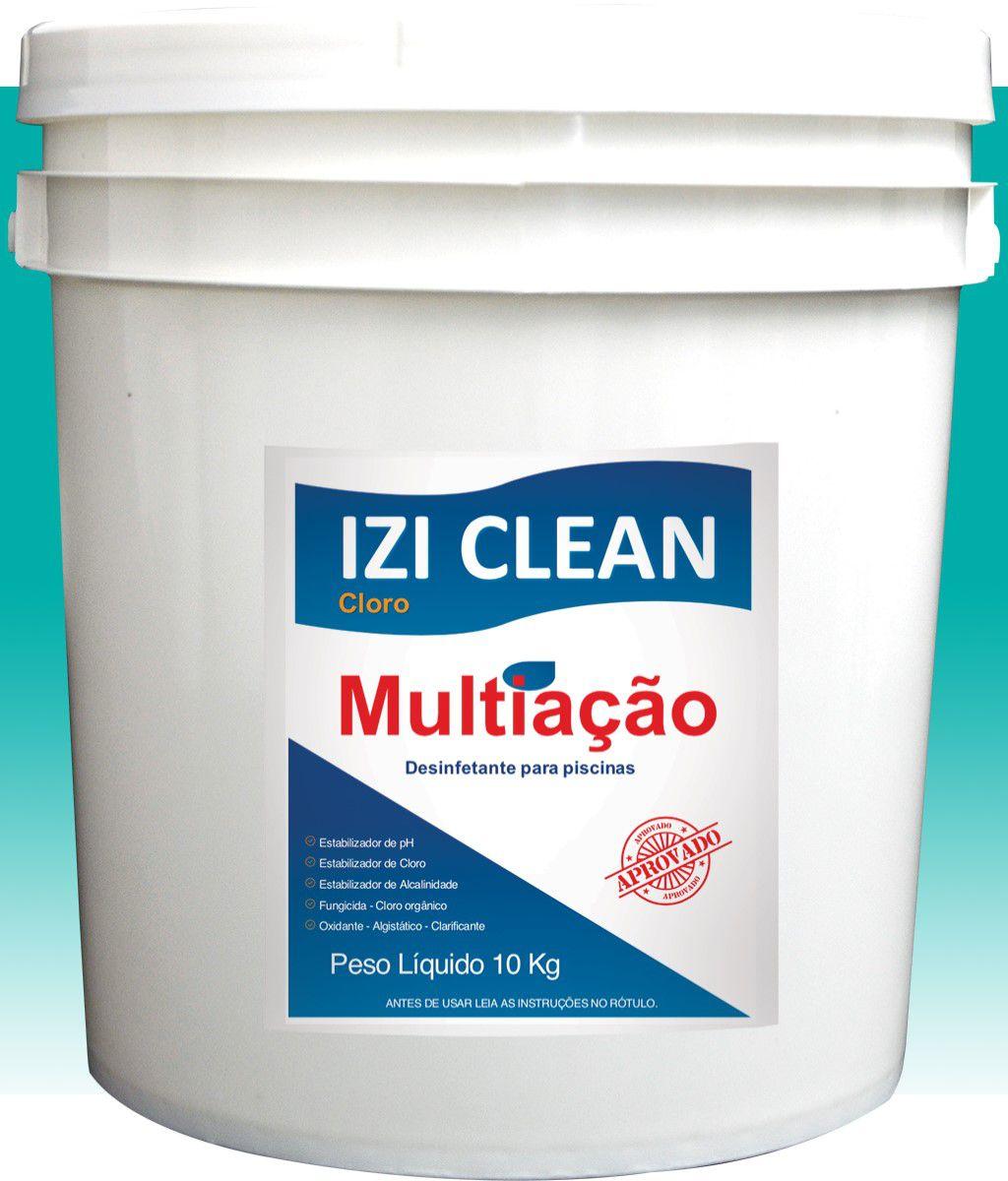 Dicloro Granulado - IZI CLEAN - 10 Kg, 5 Kg e 1 Kg