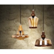 PENDENTE LAMPO AMBAR - NEW LINE IMPORTS