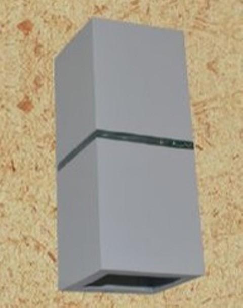 ARANDELA CRONO 20CM C/ACRILICO FACHO AB/AB BCA/MARROM -LT-41006 - TROPICAL