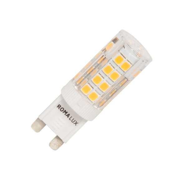 LÂMPADA HALOPIN G9 LED 3W 300LM 2700K 127V CERTIFICADA - ROMALUX