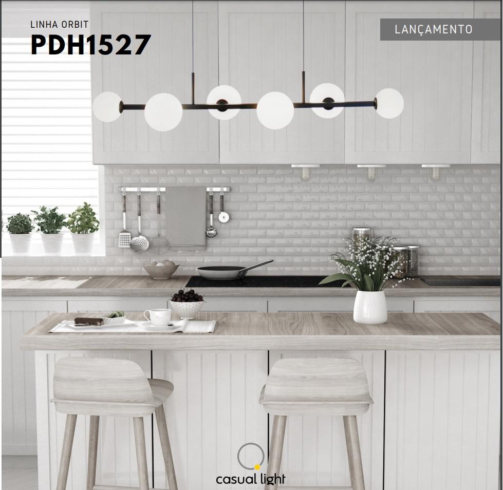 PENDENTE ORBIT 6XG9 1050X265X160MM - PD1527 CASUAL LIGHT