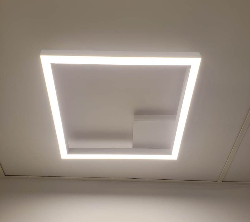 PLAFON FIT LED 3000K BRANCO - 690 E 691LED3BT - NEW LINE