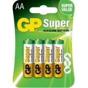 12 Pilhas Aa C/4 Alcalina Super Gp - 3 Cartelas Com 4