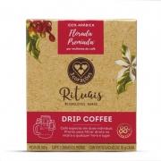 Café Drip Coffee 3 Corações Rituais Florada Caixa 10 Sachês