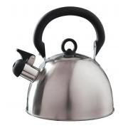 Chaleira Aço Inox 2 Litro Delizie Mor Agua Fogão Apito Café
