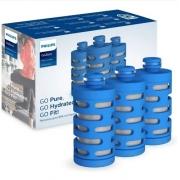 Kit 3 Filtros Para Garrafa De Água Active Awp287 Philips