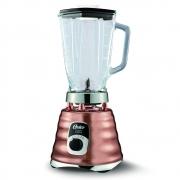 Liquidificador Oster Classic 1,25l Cobre Copo De Vidro 700w