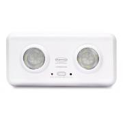 Luminária De Emergência Sofisticada 400 Lúmens Segurimax Duo