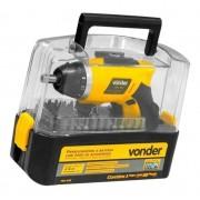 Parafusadeira a Bateria Vonder Pbv 055 - 55 Acessórios 110v