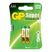 Pilha AAA Palito Alcalina Gp Super C/2