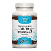 Suplemento Alimentar Cálcio E Vitamina D Vila Ervas 60 Caps