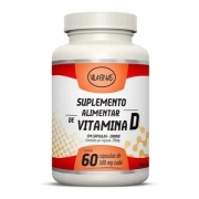Suplemento Alimentar Vitamina D Vila Ervas 60 Caps 2000ui
