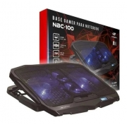 Suporte Base Notebook Nbc-100bk C3tech Gamer 4 Coolers Led