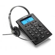 Telefone Headset Com Identificador Chamadas Hst-8000 Preto
