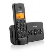 Telefone sem fio Elgin TSF 800SE Preto