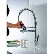 Torneira Gourmet Cozinha 50cm com Spray 100% Metal