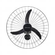 Ventilador Parede Comercial 3 Pás 60cm Bivolt Preto Ventisol