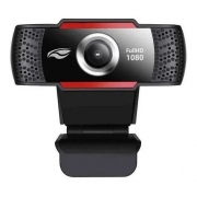 Webcam Home Office Video Aula Full Hd 1080p Wb-100bk C3 Tech