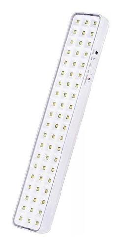 3 Luminária Emergência 60 Led 220 Lumens Aprovado Bombeiro Voltagem:110V/220V