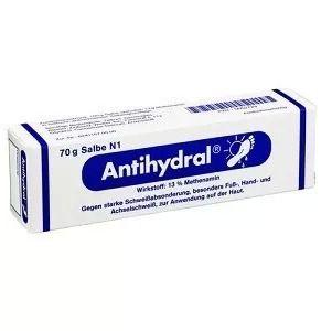 Antihydral 70g - Resolva A Hiperidrose