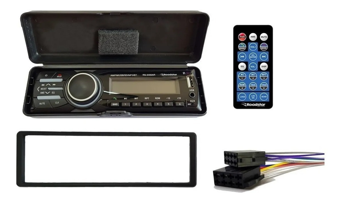 Auto Radio Som Automotivo Painel Destacável Bluetooth Am Fm