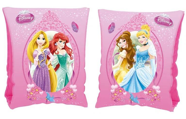 Boia De Braço Inflável Crianças Princesas Disney Menina